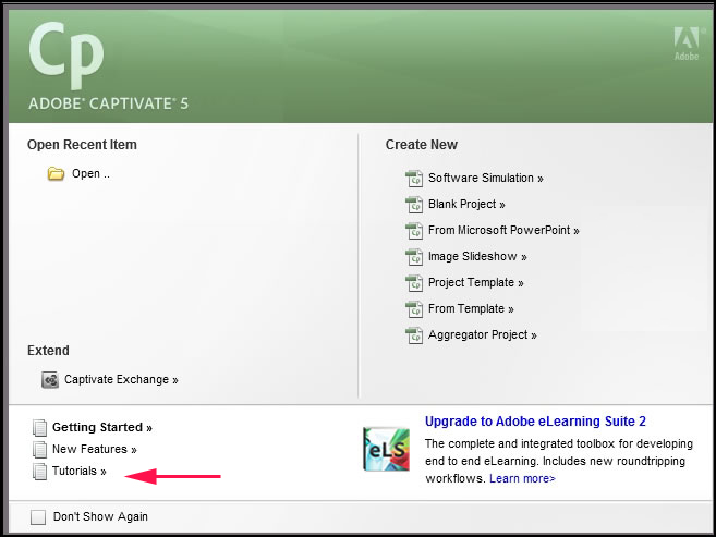 Order Adobe Captivate 5