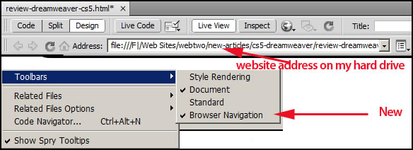 Review of Adobe Dreamweaver CS5