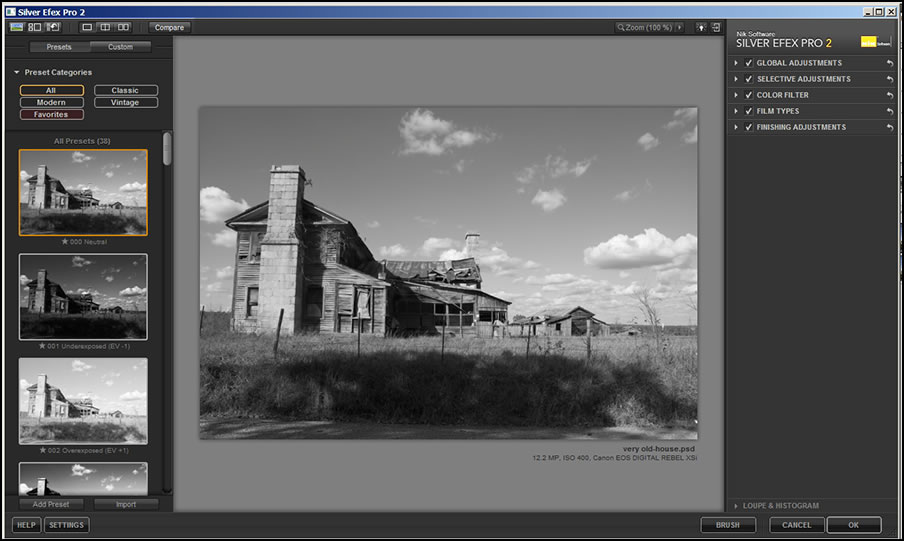 Review Of Silver Efex Pro 2