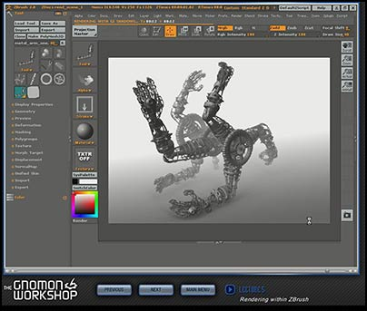 Review of Gnomon Workshop s Introduction to ZBrushZbrush Interface